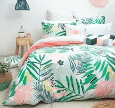 bambury lani hawaii 100 cotton quilt doona cover set single double queen king double bed