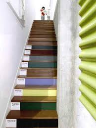 colorful painting ideas for staircases