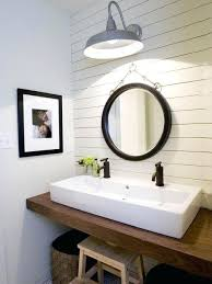 Powder room lighting Unique Powder Room Lighting Guest Bath By About Basement Using Old Barn Light Fixtures Playnewzclub Powder Room Lighting Guest Bath By About Basement Using Old Barn