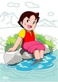 heidi arabic cartoon onvacations wallpaper image