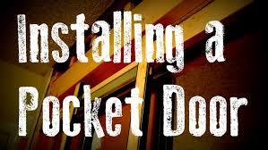 Pocket Door Retrofit Installing A Pocket Door Remodel Guide Without Removing The