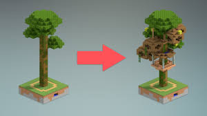 Jungle Tree House Design Minecraft YouTube