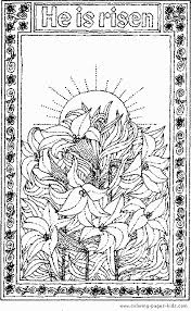 Small Picture Easter Coloring Pages To Print Religious Coloring Pages