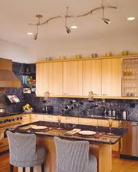 suspended track lighting kitchen modern. Image Of: Suspended Track Lighting Kitchen Island Modern