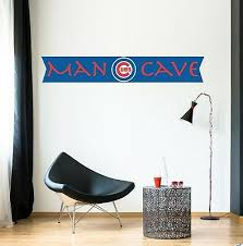 chicago cubs bear logo wall decal color