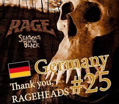 German Black Charts Rage Seasons Of The Black 25 In The German Charts