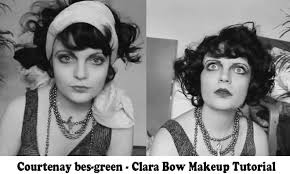 clara bow makeup tutorial 1920 s hollywood