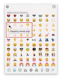 Emoji Meaning Chart And Hand Meaning Of Emoji Character Hand Emoji Meanings Emoji