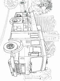 Printable Coloring Pages Trucks Unique Fire Truck Coloring Pages