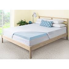memory foam mattress pad. ComforZen 3\ Memory Foam Mattress Pad