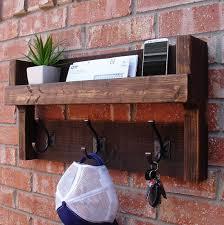 Coat Rack Mail Organizer Handmade wall mount coat rack mail organizer Perfect for any home 54