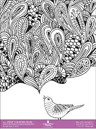 Coloring Books For Adults Downloadable Sample