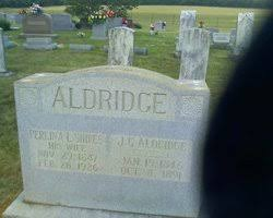 Perlina Lacy Shires Aldridge (1847-1926) - Find A Grave Memorial