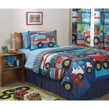 fire truck bedding full designs