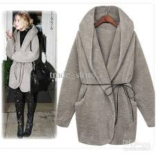 2017 2016 winter coats fashion women coat and tops loose hooded