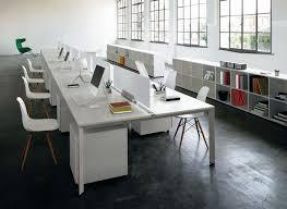 white desk office. bench simple white office desk