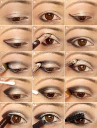 winged eye makeup tutorial for night look