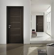 Interior House Doors Designs Minimalist Wood Interior Doors For Modern Bedroom Decor Without