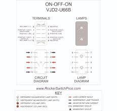 dpdt rocker switch on off on 2 ind lamps dpdt rocker switch