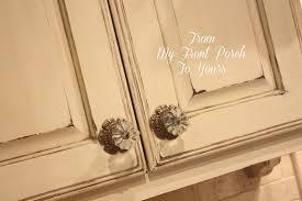 annie sloan chalk painted kitchen cabinets in old ochre