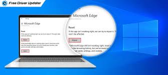 how to fix microsoft edge not working