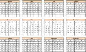 Printable 1 Page 2015 Calendar Printable Year Calendar Image ...