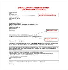 Letters With Letterhead Letter Of Recommendation Letterhead Exergames Info