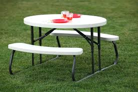 folding picnic table costco image of round folding table