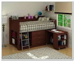 charleston storage loft bed with desk white and of brown instructions creative photoshot