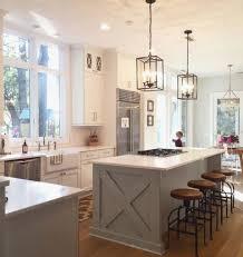 lovely kitchen island linear pendant lighting