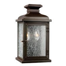 pediment replica outdoor victorian gas lamp wall light in dark copper finish small