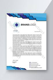 What Is Professional Letterhead Professional Letterhead Design Template Ai Free Download