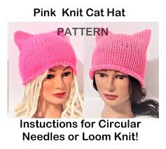 Pussycat Hat Pattern