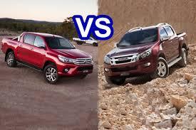 Magari Poa Click HERE>> » TOYOTA Hilux Vigo vs ISUZU DMax Double Cab