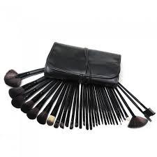 32pcs professional cosmetic makeup brush set with pouch bag beauty makeup tool kit cm