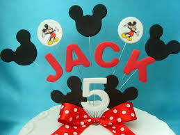 Baby Mickey Mouse Edible Cake Decorations Baby Minnie Edible Cake Topper Cake