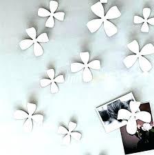 incredible ceramic flower wall decor m7752795 porcelain wall flowers ceramic flower