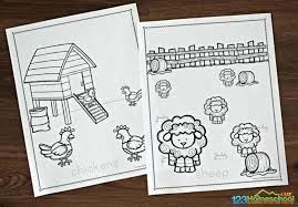 We've got all the popular animals to color including cats, dogs, farm animals, lions, birds, fish and so much more! Free Farm Coloring Pages
