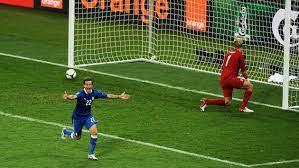 England v Italy from Euro 2012 where ...