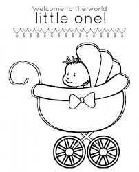 Children will love coloring pages baby shark. Baby Shower Coloring Pages Coloring Rocks