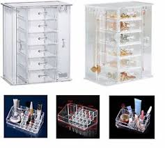 cosmetic organiser acrylic makeup drawer holder jewellery case