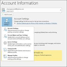 Microsoft Company Worth Add An Email Account Using Advanced Setup Outlook