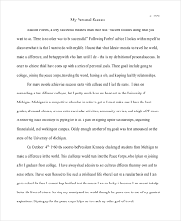 concept essay examples samples concept on success