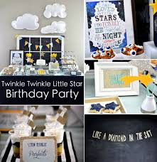 Karas Party Ideas Twinkle Star Space 2nd Birthday Little