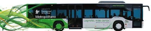 Resultado de imagen de autobuses metropolitanos la rioja