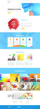 the painting company rainbows colors painting company responsive theme original rainbows colors painting company responsive theme