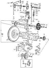 172 cid cyl head parts diagram yesterday s tractors 1 1 eae6375b flywheel assy 9 single clutch prior to s n 14257 no longer serviced years 01 01 1953 12 31 1957 1 1 b7p6375b engine flywheel flywheel