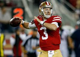 San Francisco 49ers Depth Chart 2017 Analysis 49ers Rookie Quarterback Shows Promise Again