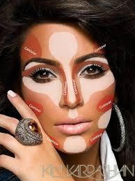 kim kardashian s makeup contouring tricks