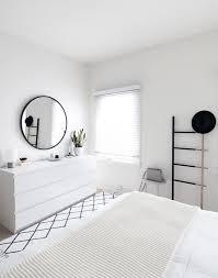 Black And White Aesthetic Minimalist Bedroom